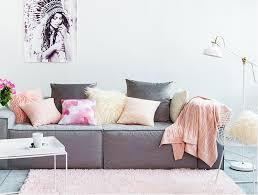 housse de canapé grande taille hiver cachemire cristal simple couleur simple oreiller moderne en