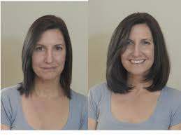 elle kay salon basking ridge nj before and after layered hair