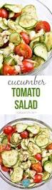 Easy Salad Recipe by Cucumber And Tomato Salad Recipe Add A Pinch