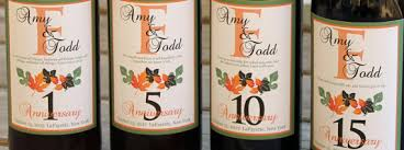 anniversary wine bottles wine labels wedding guest book wine labels wine by sugarvineart