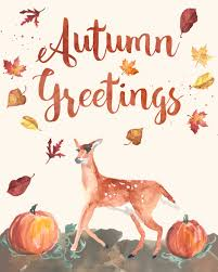free printable watercolor wall autumn greetings live