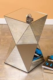 modern side tables for bedroom best 25 mirrored side tables ideas on pinterest mirror