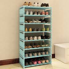 shoe organizer 7 layers non woven fabric shoe rack shelf storage closet organizer