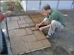 diy concrete patio ideas concrete patio molds diy patios home decorating ideas klxbj57xw9