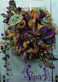 mardi gras mesh mardi gras wreath tutorial trendy tree decor