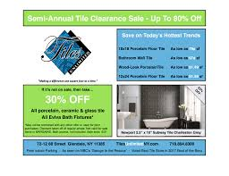 semi annual tile clearance sale tilesunlimitedny