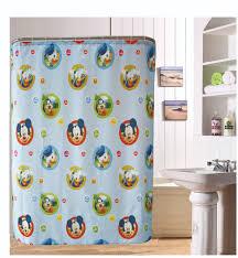 Cute Shower Curtain Hooks Bathroom Appealing Mickey Mouse Shower Curtain For Cute Bathroom