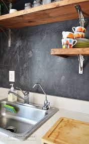 Kitchen Backsplash Alternatives Six Alternatives To The Tile Backsplash That Are Practical
