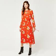 chiffon dress floral chiffon dress warehouse