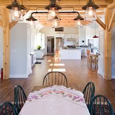 transitional pendant lighting kitchen traditional with table cloth