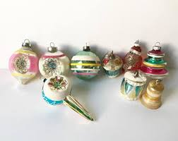 Christmas Ornaments Wholesale Toronto by Vintage 1950s Christmas Decorations Etsy
