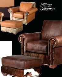 southwestern chairs and ottomans western ottoman southwestern leather furniture sofa chair ottoman