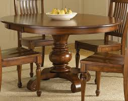 finish dining room round pedestal table w options