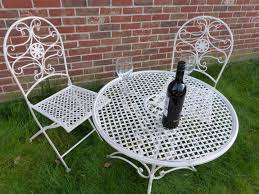 Vintage Bistro Table And Chairs Chair And Table Design Vintage Metal Bistro Chairs Metal Bistro