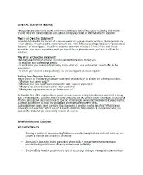 general labor resume objective statements general resume objective generic objective for resume for a resume