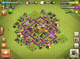 coc map layout th6 th6 clan war base clash of clans wiki