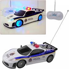 remote control police car with lights and siren safekom police radio remote control led toy car spider flash siren