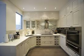 kitchen style contemporaruy elegant l shaped kitchen designs
