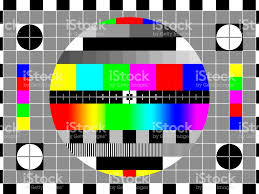 test pattern media tv test card or test pattern sd 43 ratio generic stock photo more