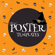 halloween flyer background template postermywall com postermywall twitter