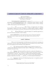 10 best images of nevada llc operating agreement template llc