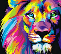 unique color lion 45 free coloring pages kids