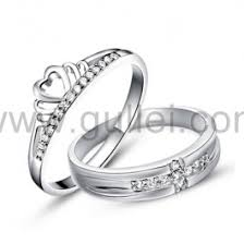 2 engagement rings engraved sterling silver engagement rings set for 2