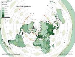Population Density World Map by Cedar Morton U2014 Coursework2