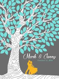 wedding tree custom wedding tree guestbook hire an illustrator