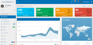 best 14 bootstrap admin templates with material design