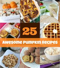 25 pumpkin recipe ideas