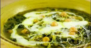 cuisine iranienne soupe iranienne aux épinards recette par ladymilonguera