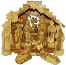 amazon com nativity set olive wood nativity set home u0026 kitchen