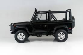 white land rover defender 90 1997 land rover defender 90 open top stock 1997105 for sale near
