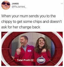 Profit Meme - dopl3r com memes james ffsjames when your mum sends you to the