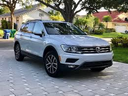 volkswagen tiguan white 2017 picked up the brand new 2018 vw tiguan se today for the fiancé