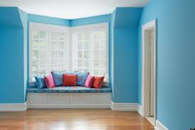 gorgeous blue bedrooms rooms color with exotic wall decoration