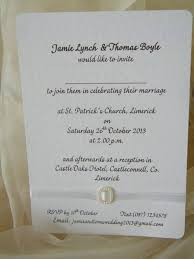 wedding invitations limerick personalised stationery wedding stationery