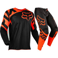 Fox Racing 2017 Mx New 180 Race Black Orange Jersey Pants