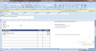 Excel Invoice Template 2010 Graphic Design Invoice Template Microsoft Excel Ptasso