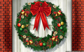 christmas decor home door decorations funny wreath at ornaments
