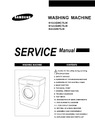 samsung washing machine repair manual 28 images washing