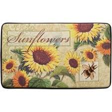 Sunflower Kitchen Rugs Provence Sunflowers By Jennifer Brinley This Is A Wool Hooked