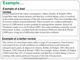 critical literature review sample home safety essay