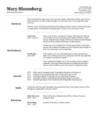 free printable resume templates microsoft word sample resume