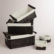 bathroom boxes baskets bathroom baskets world market