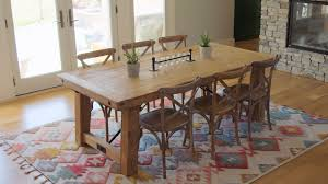 How Big Should Area Rug Be Kitchen Table Best Rug Material For Kitchen Table Rug Size