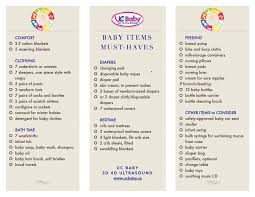 newborn baby needs baby items checklist must haves for the year uc baby
