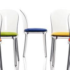 chaise de cuisine transparente merveilleux chaise design salle a manger 4 vanity chair chaise