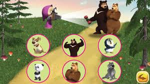 free games masha bear android apps google play